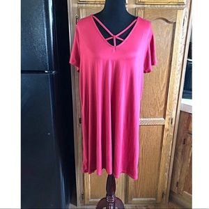 Rue 21 Caged Neck Swing Dress Size 1X
